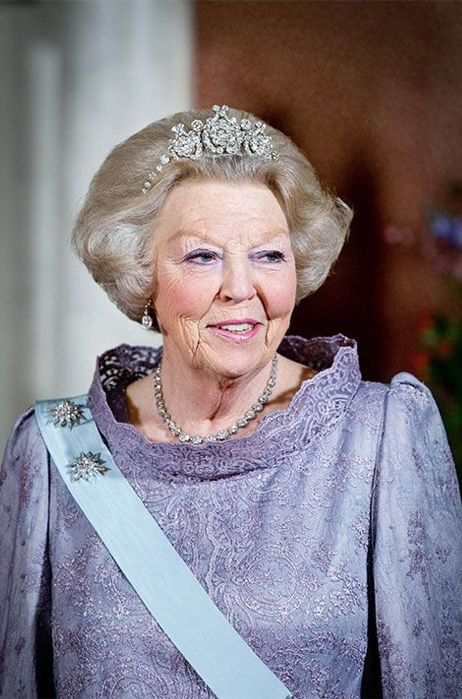 L'ancienne reine Beatrix
