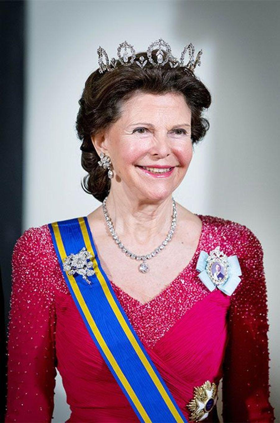 La reine Silvia de Suède