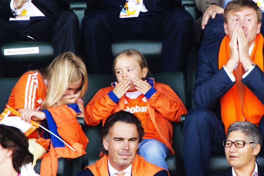 Sortie au stade pour Maxima et sa famille