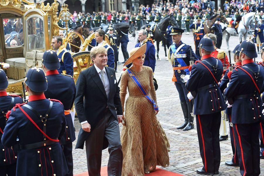 Sortie en carrosse pour Willem-Alexander et Maxima