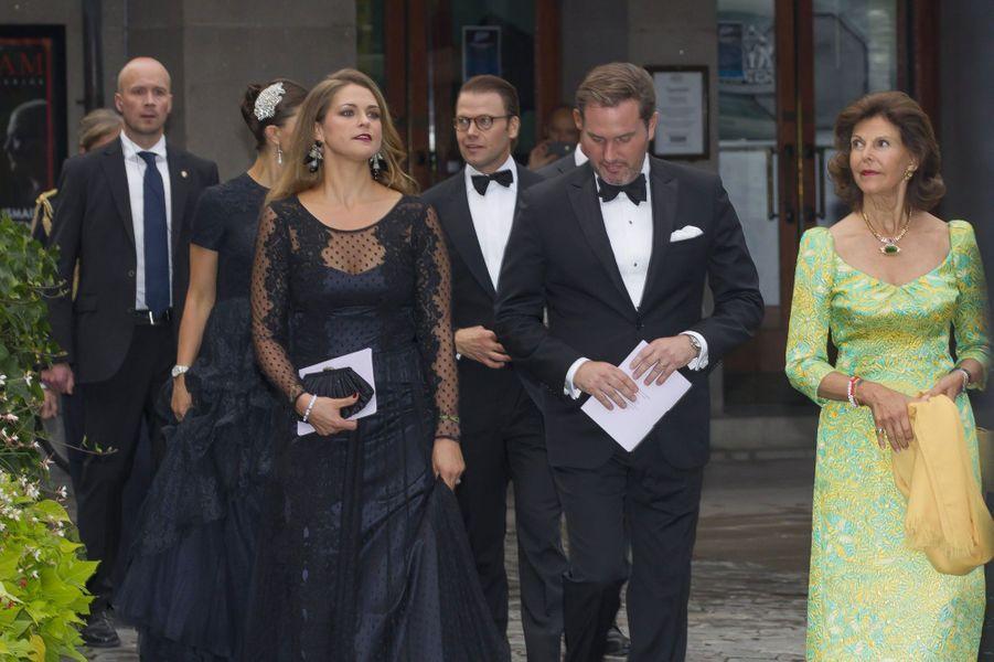 Madeleine, Christopher O'Neill et la reine Silvia
