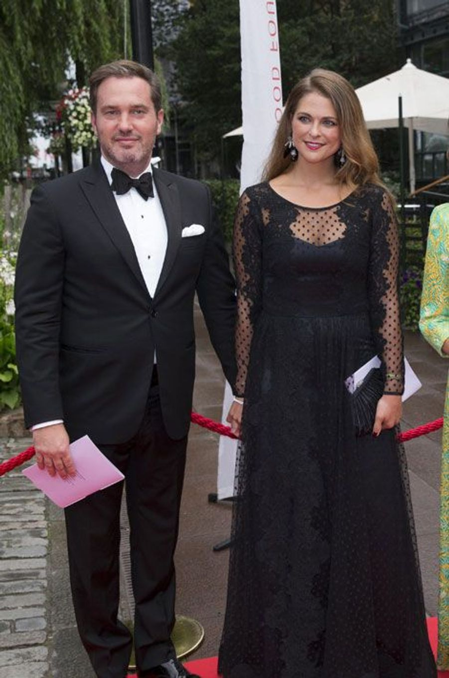 Madeleine et Christopher O'Neill