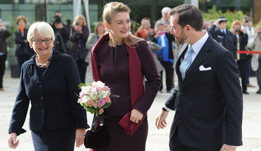 C'est le gouvernement du Luxembourg qui a organisé la réception au Grand Théâtre.