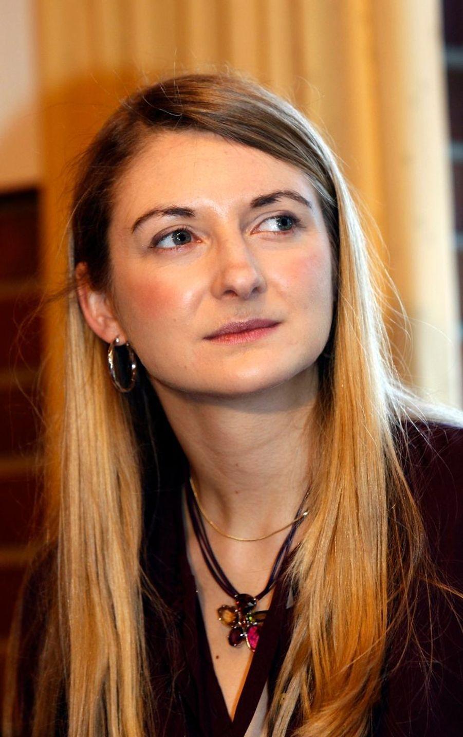 Stéphanie, l'épouse du grand-duc héritier Guillaume