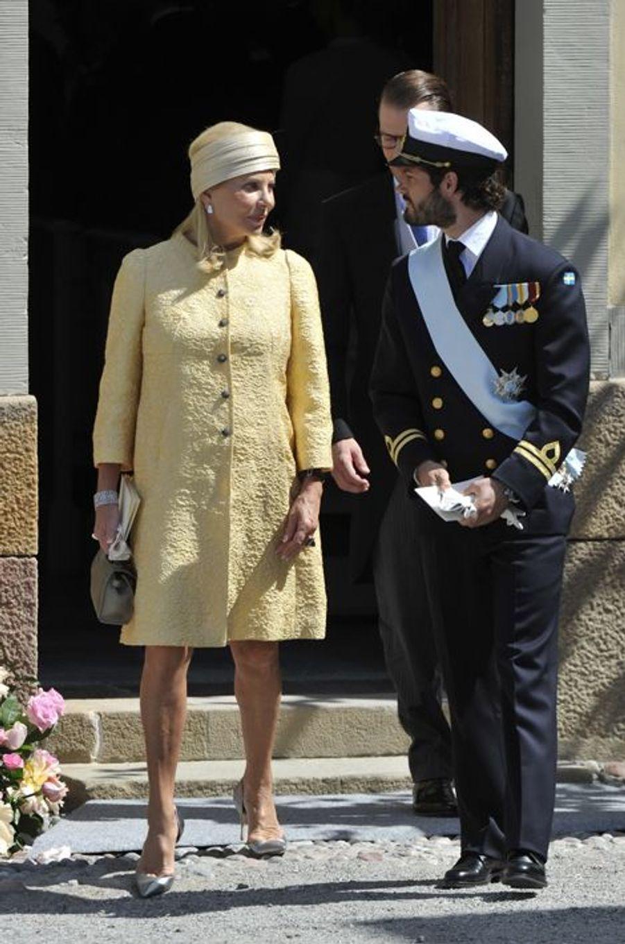 Eva O'Neill et le prince Carl-Philip