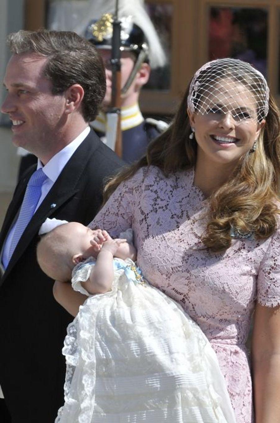 Baptême royal pour la princesse Leonore