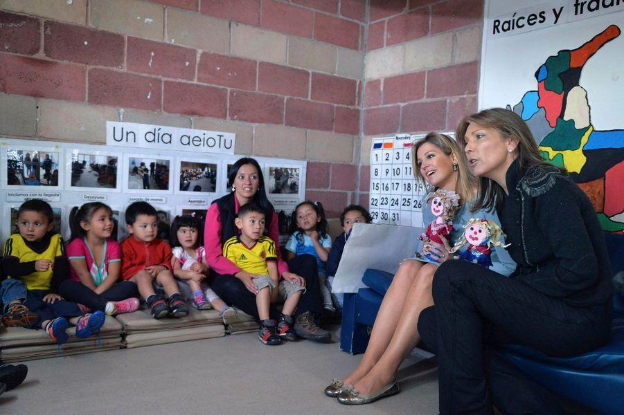 Maxima, tendres rencontres à Bogota