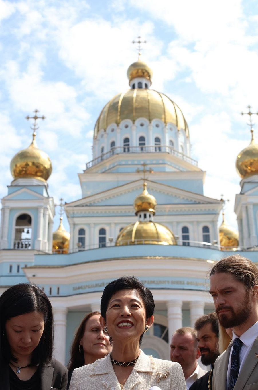 La princesse Hisako de Takamado à Saransk, le 20 juin 2018