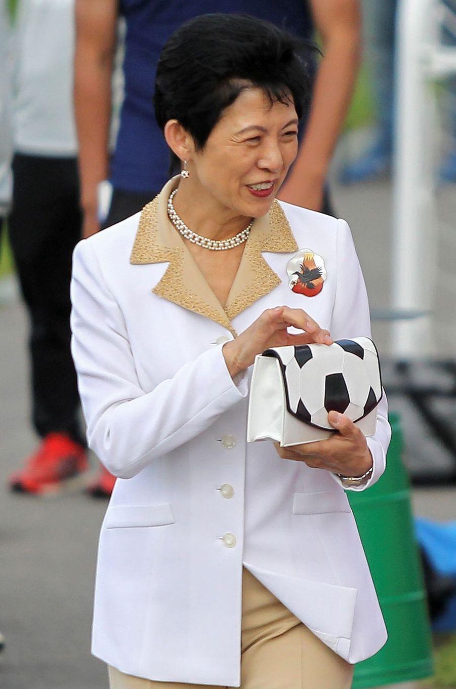 La princesse Hisako de Takamado à Kazan, le 21 juin 2018