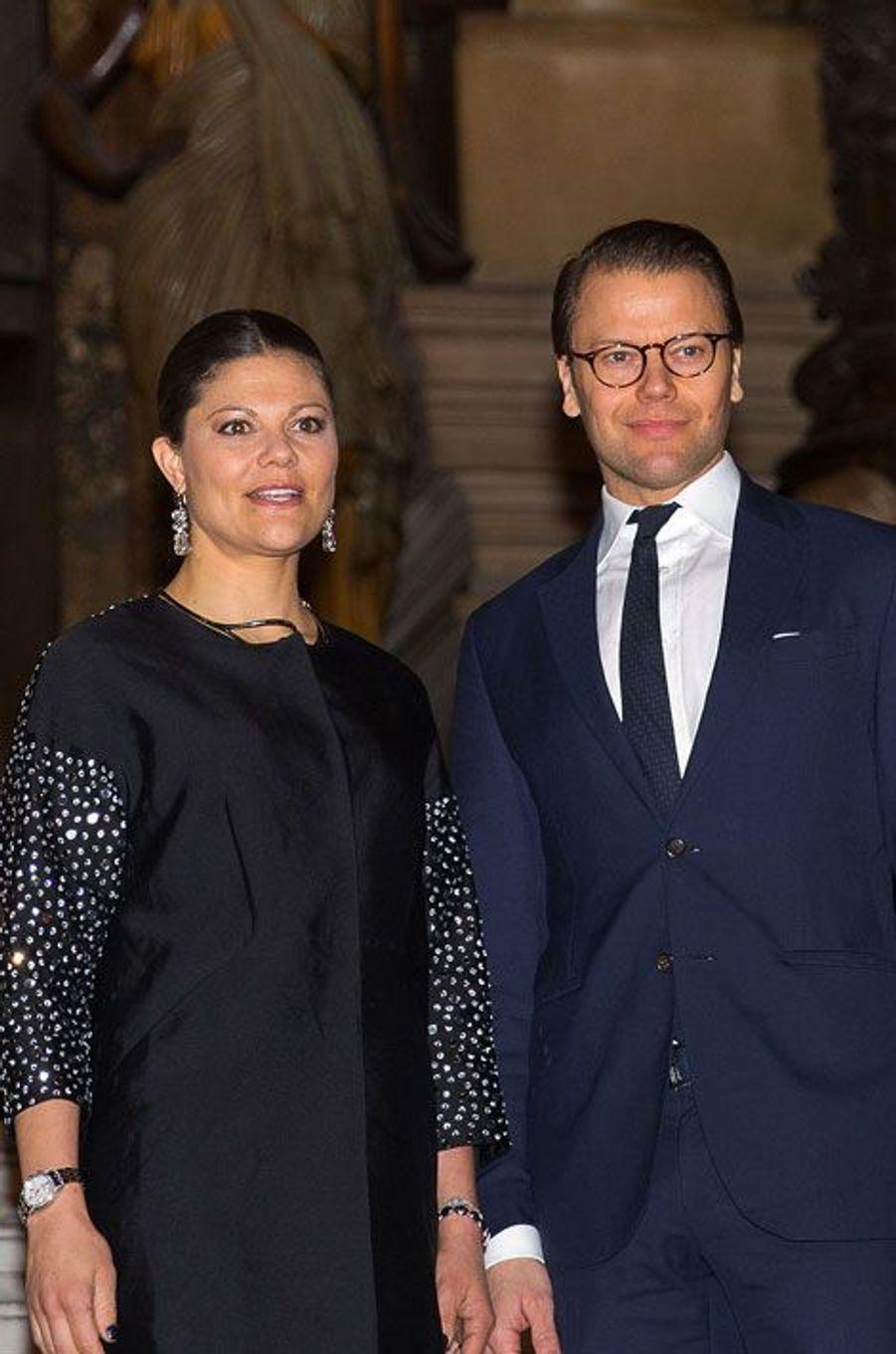 Victoria et Daniel de Suède en escapade à Paris