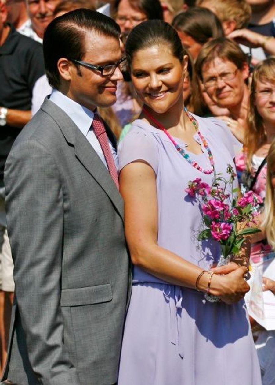 Complices, le jour de l'anniversaire de la princesse, célébré à Borgholm.