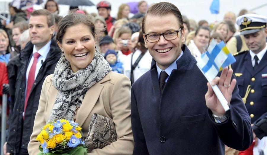 Le couple visite Turku, capitale européenne de la Culture, en Finlande.