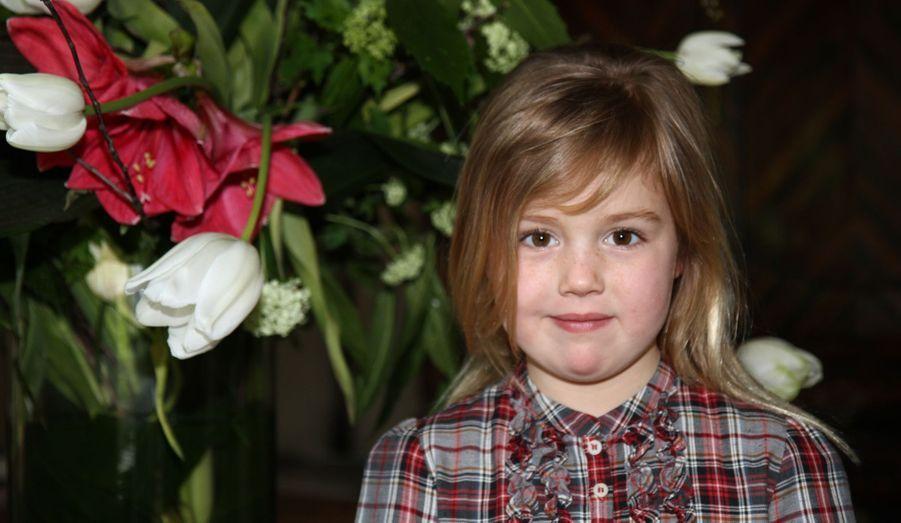 La princesse Alexia, née en 2005 (ici en 2012)
