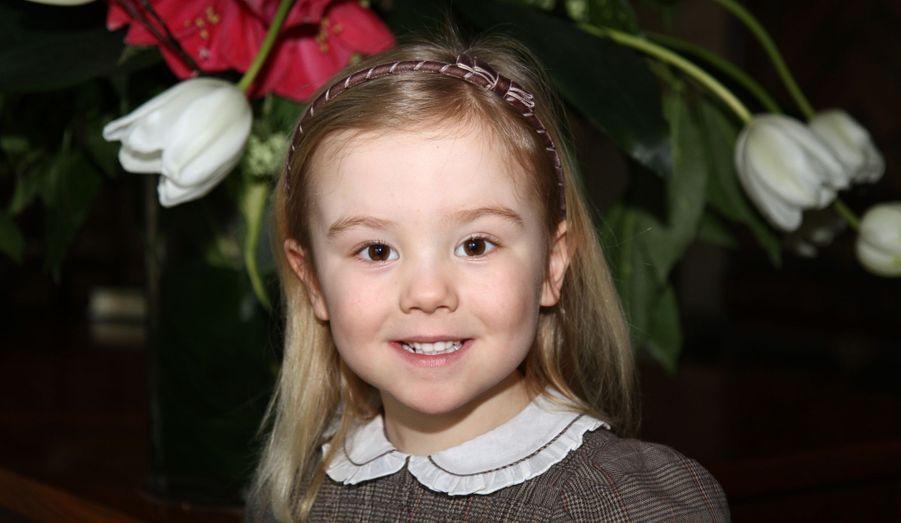 La princesse Ariane, née en 2007 (ici en 2012)