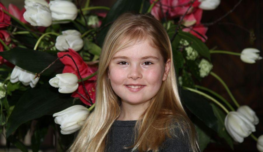 La princesse Catharina-Amalia, née en 2003 (ici en 2012)