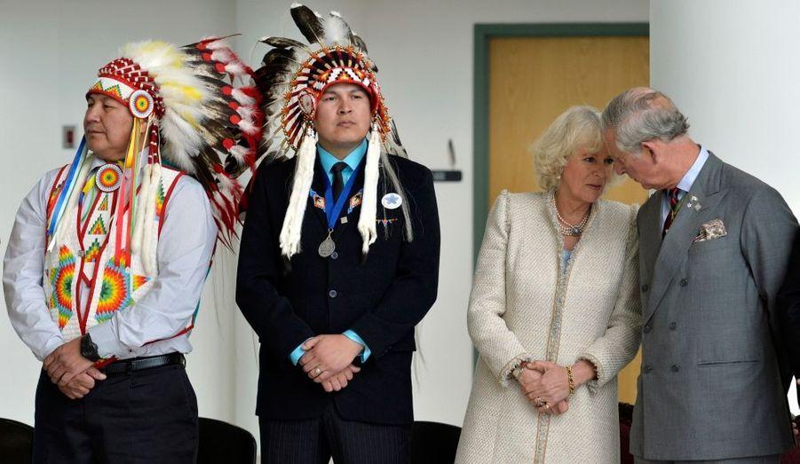 A l'occasion des 60 années de règne d'Elizabeth, le prince de Galles et son épouse ont passé quatre jours au Canada fin mai, à représenter la souveraine devant ses sujets d'Amérique du Nord.