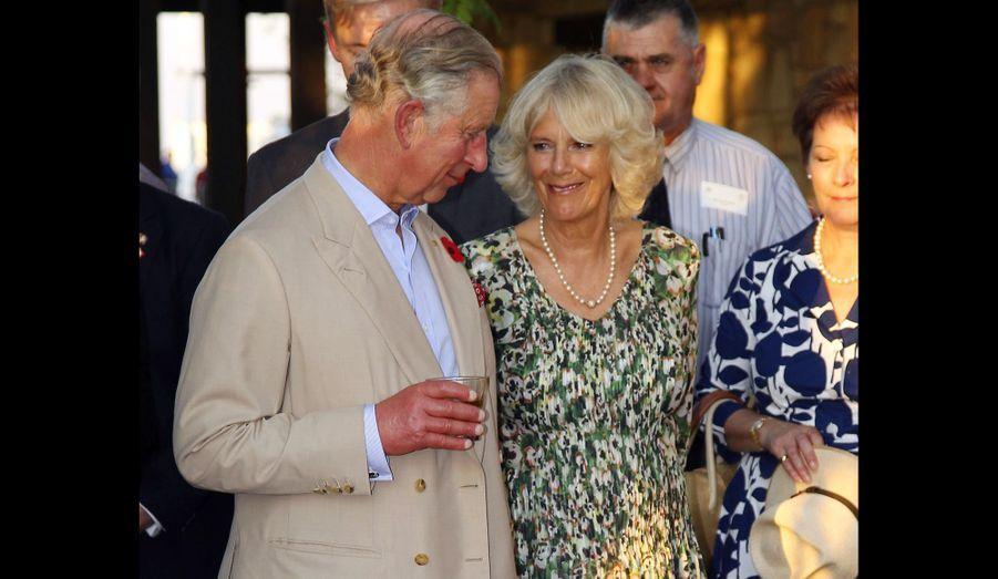 Après le Canada en début d'année, le couple princier s'est rendu pour six jours au pays des kangourous pour représenter la reine à l'occasion du Jubilé de diamant.