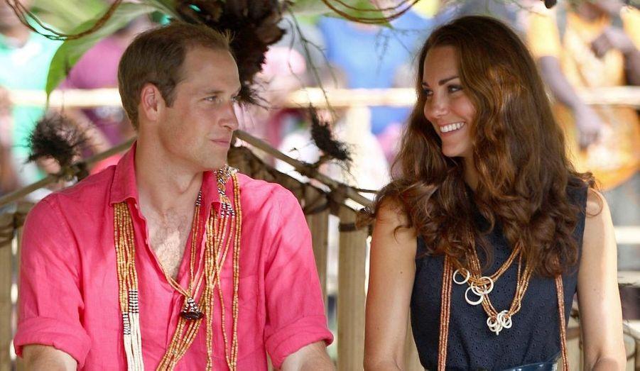 Pour leur second grand voyage officiel - après le Canada, au lendemain de leur mariage -Kate et William sont partis huit jours en Asie du sud-est et dans le Pacifique pour représenter la Reine Elizabeth pour son jubilé de Diamant.