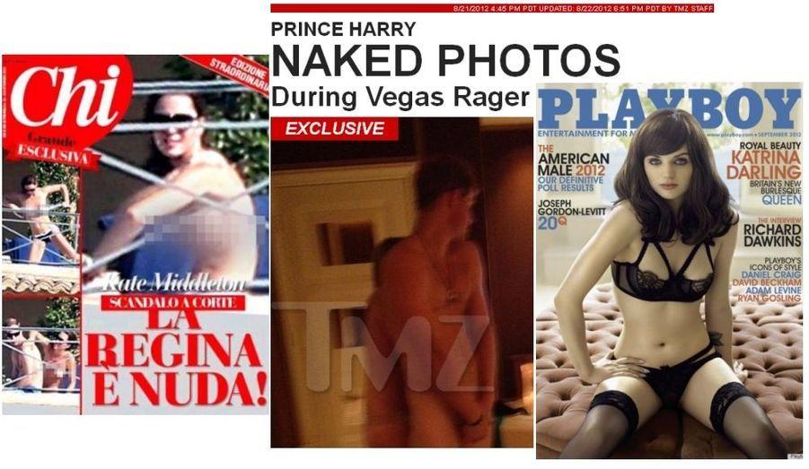 Outre les problèmes de santé de Philip, c'est l'ombre au tableau de cette année parfaite : Harry photographié nu pendant une fête à Las Vegas et Kate bronzant sans le haut en France...