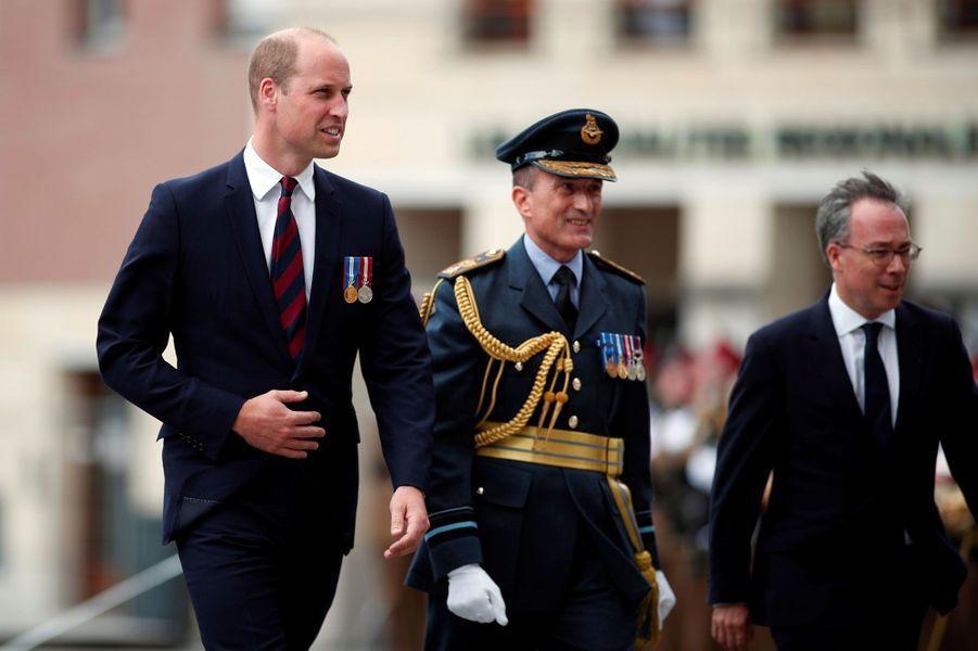 Le prince William à Amiens.