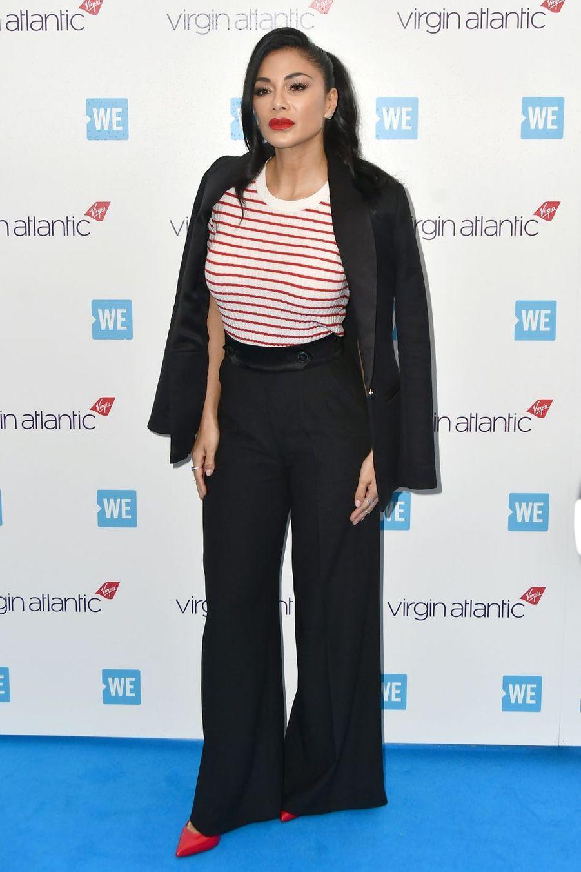 Nicole Scherzinger à Wembley le 6 mars 2019 lors du WE Day UK