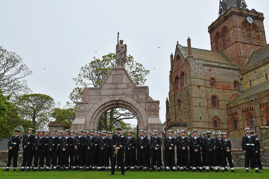 Commémoration de la bataille du Jutland à Kirkwall, le 31 mai 2016