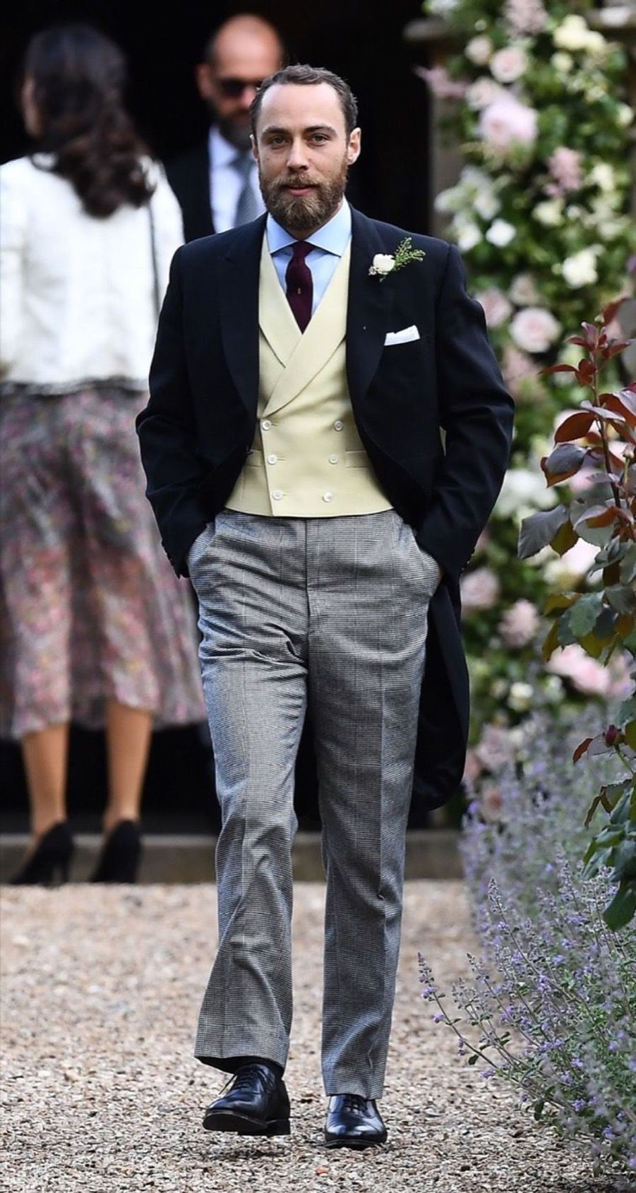 James Middleton au mariage de Pippa Middleton