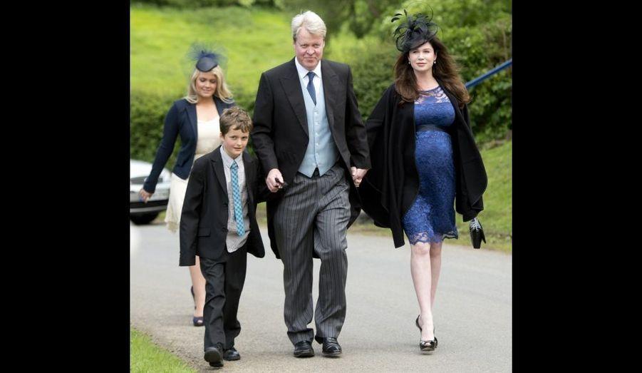 Le comte Spencer et sa famille