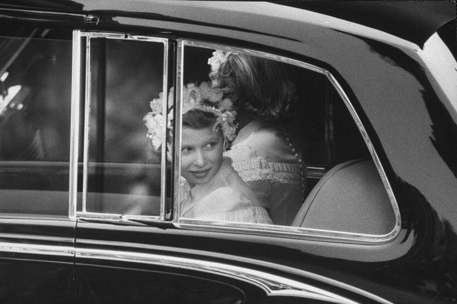 La princesse Anne, le 6 mai 1960