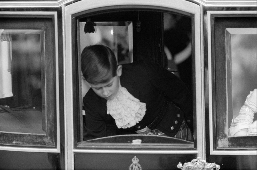 Le prince Charles, le 6 mai 1960