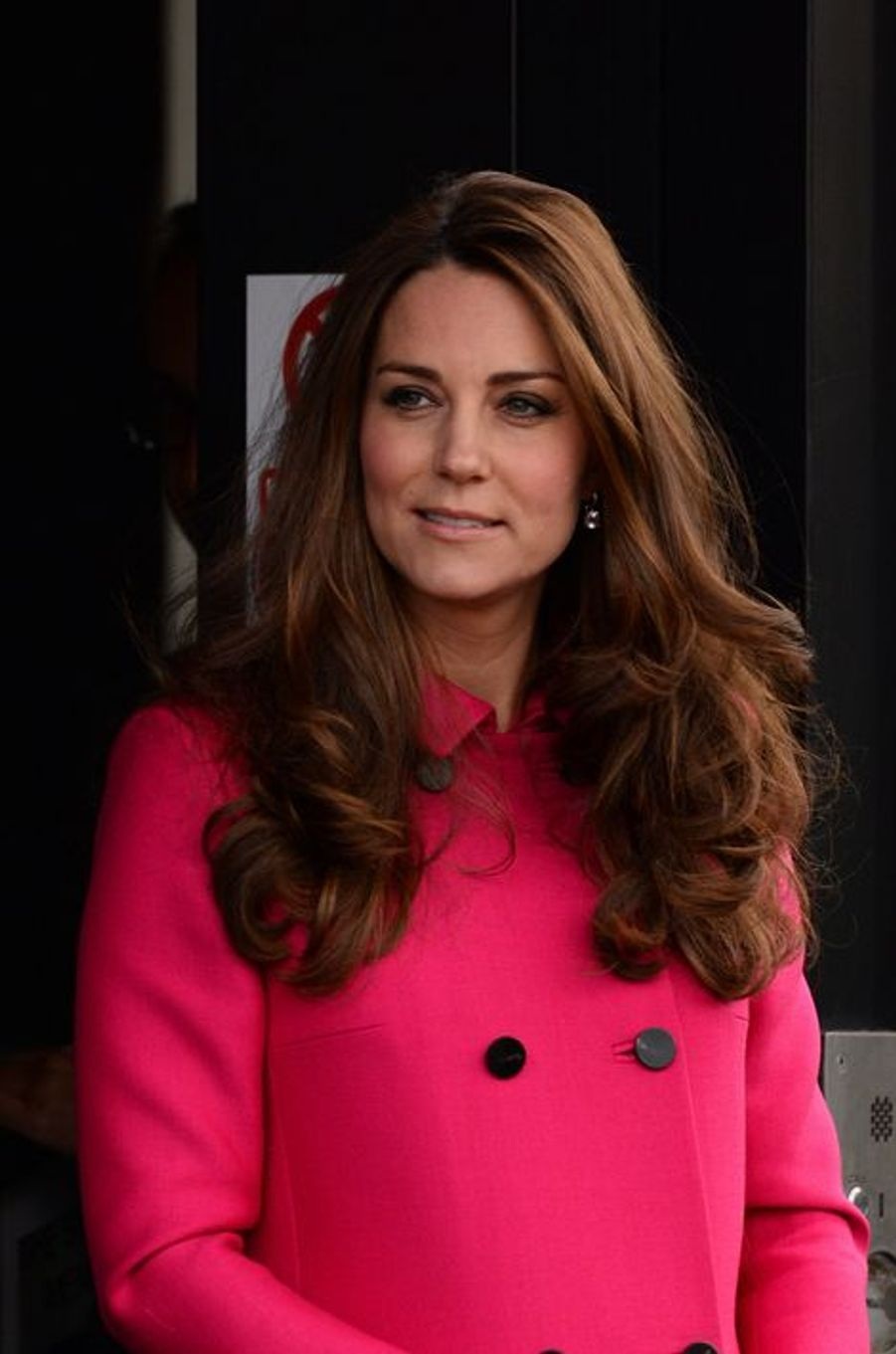 Kate née Middleton au Stephen Lawrence Centre à Londres, le 27 mars 2015