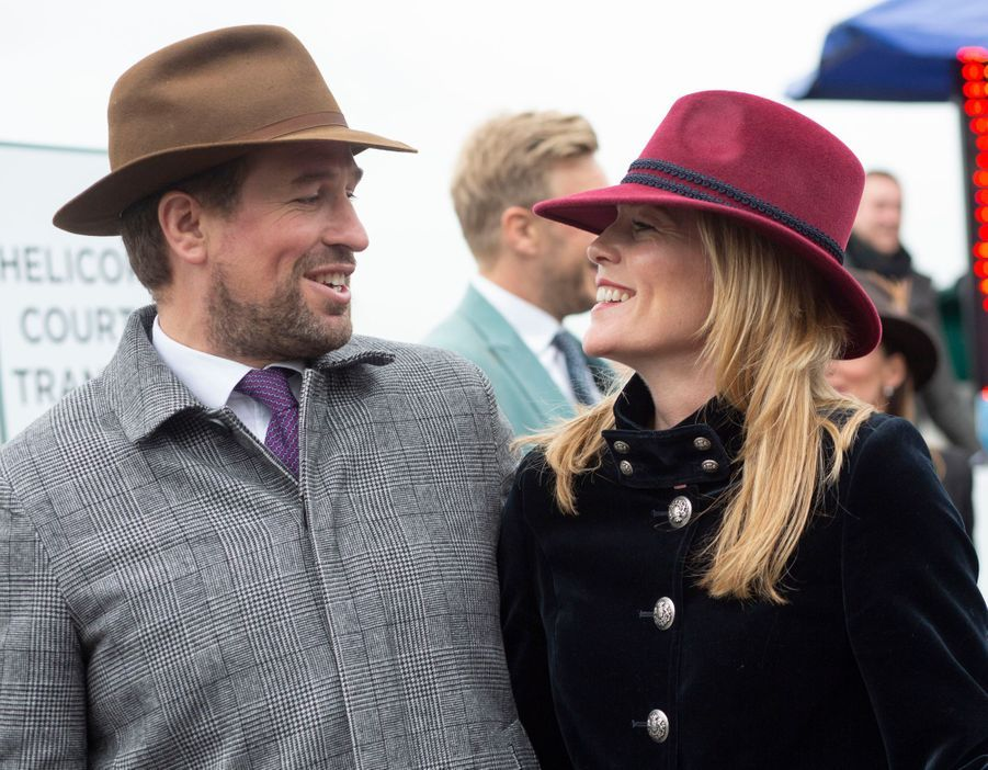 Peter et Autumn Phillips, le 15 mars 2019