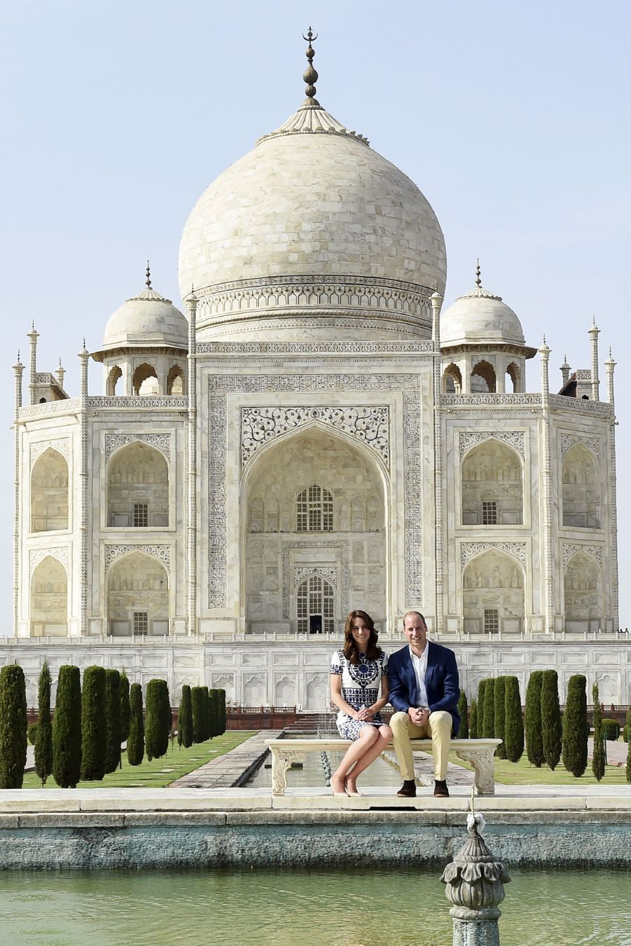 Avant Kate et William, Diana si seule au Taj Mahal