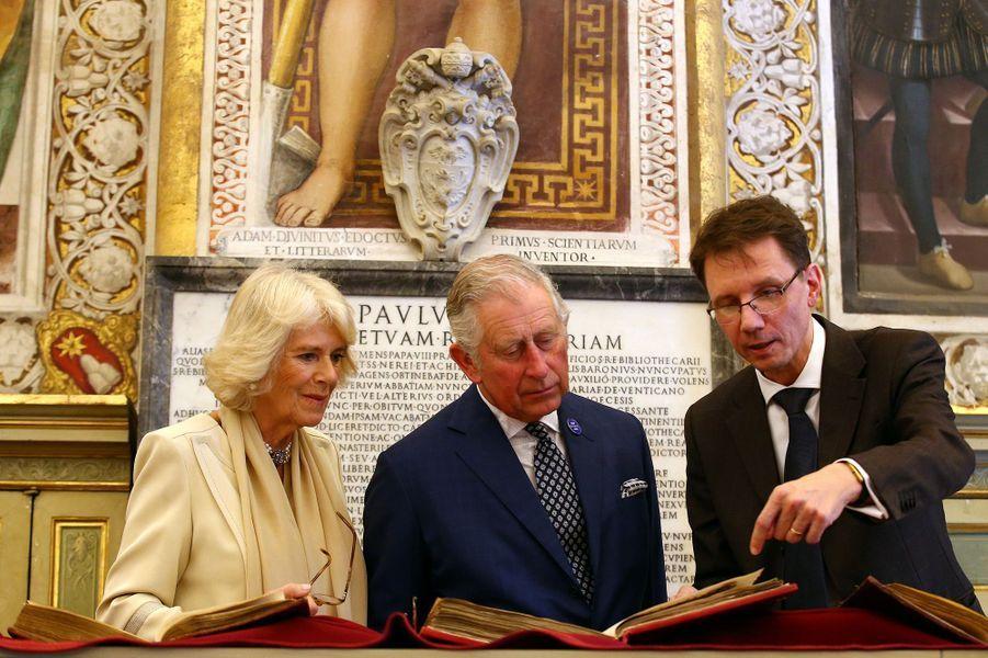 Le Prince Charles Et Camilla Au Vatican Le 4 Avril 2017 5