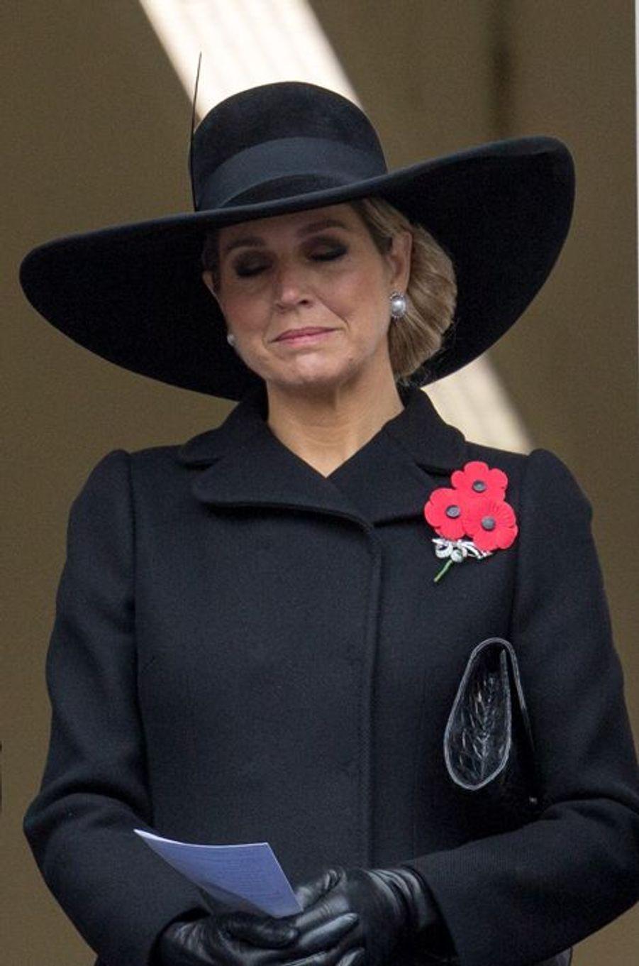 La reine Maxima à Londres, le 8 novembre 2015
