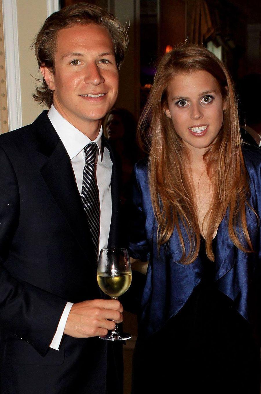 Lors d'une réception pour Sentebale, l'association du prince Harry, à New York en 2010