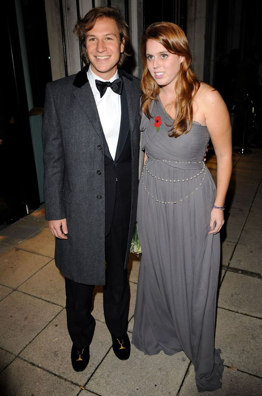 Lors d'une soirée pour l'association Children in Crisis, en 2008