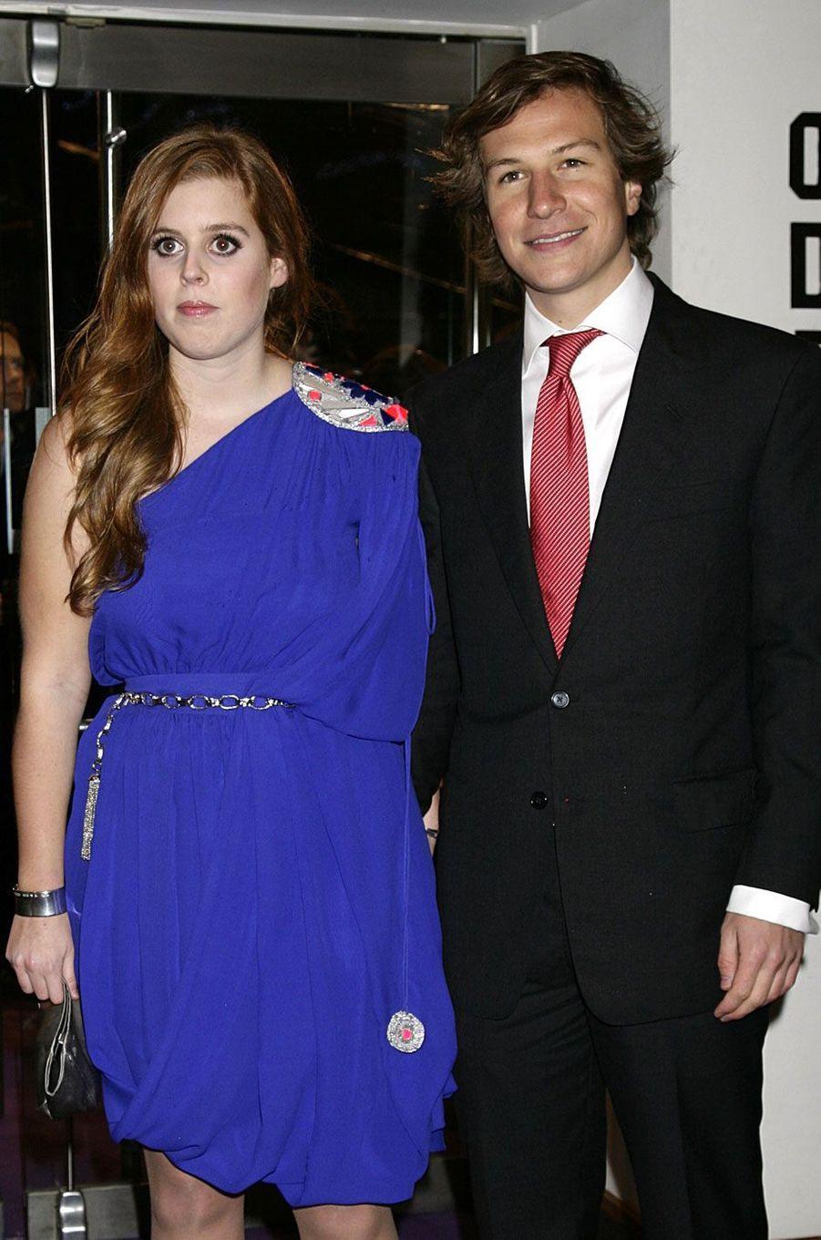 Le couple assiste à la première d'un film à Londres, en 2009