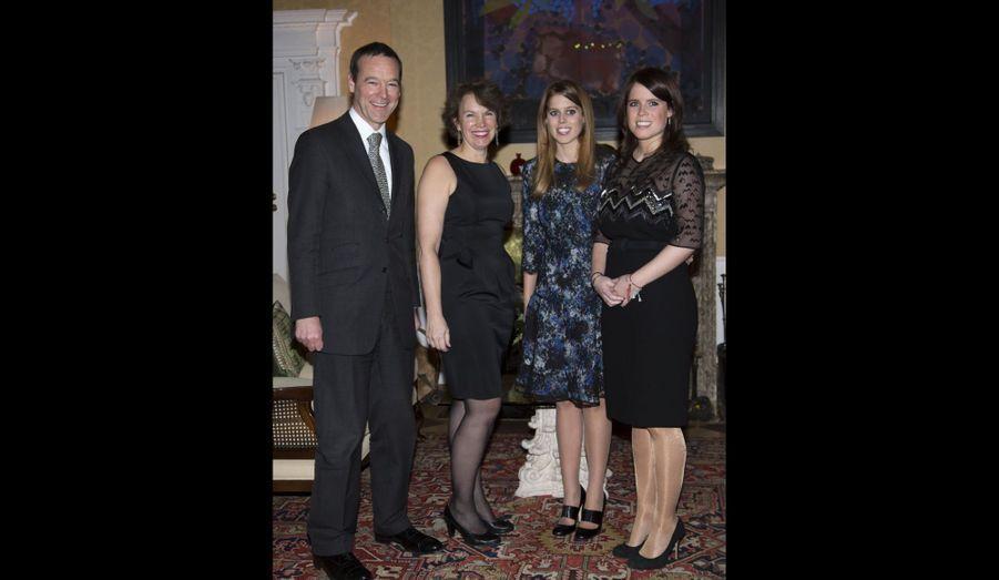 Avec l'ambassadeur du Royaume-uni et son épouse