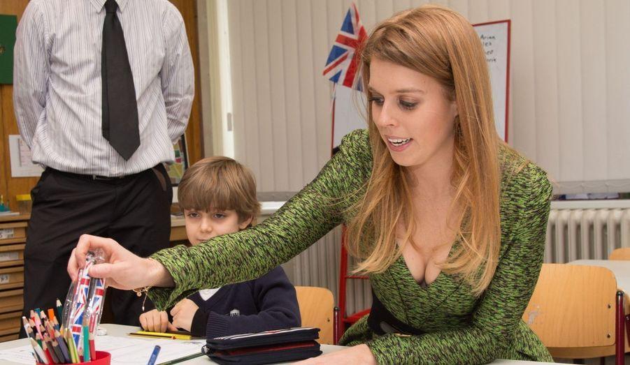 Beatrice à l'école britannique de Berlin