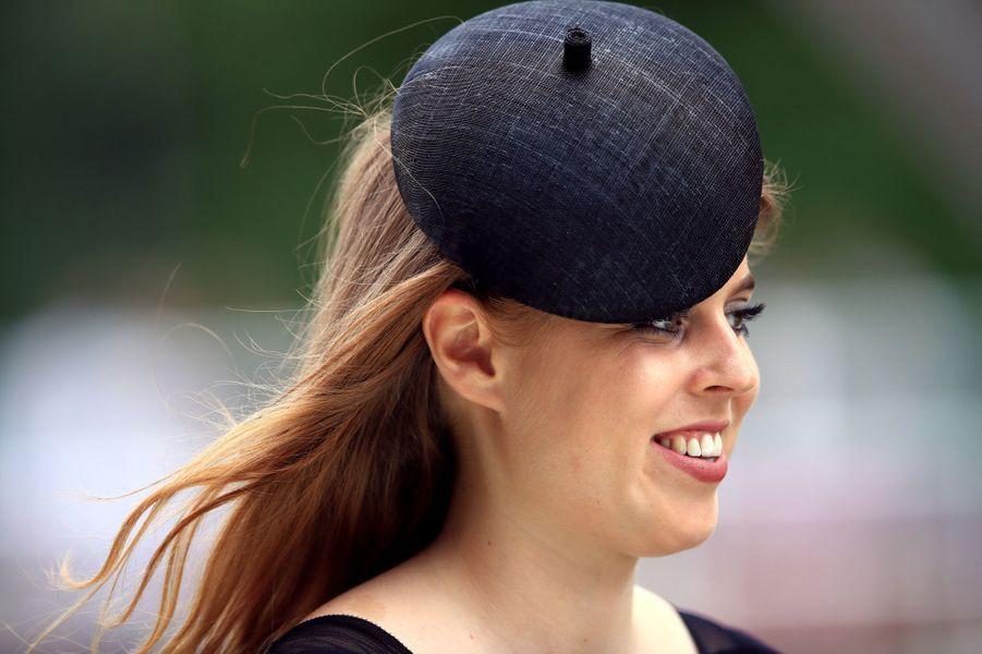 La princesse Beatrice d'York à Ascot, le 24 juin 2017