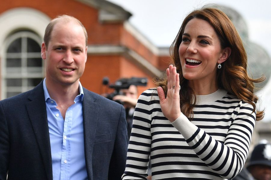 Kate Middleton et le prince William en visite à Greenwich le 7 mai 2019