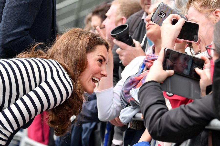 Kate Middleton en visite à Greenwich le 7 mai 2019