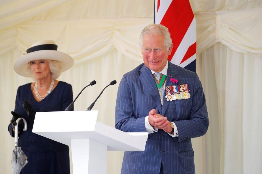 La duchesse de Cornouailles Camilla et le prince Charles à Londres, le 18 juin 2020