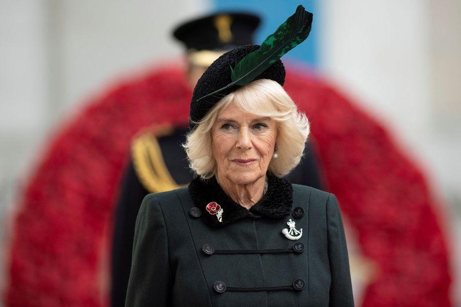 La duchesse de Cornouailles Camilla à Londres, le 4 novembre 2020