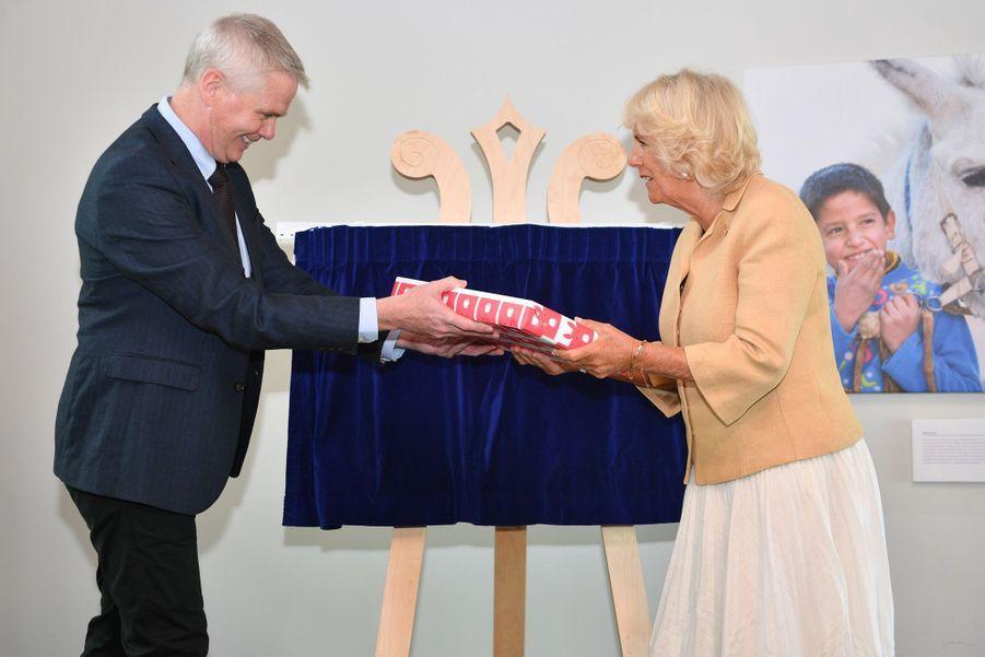 Camilla Parker Bowles àSidmouth, le 17 juillet 2019