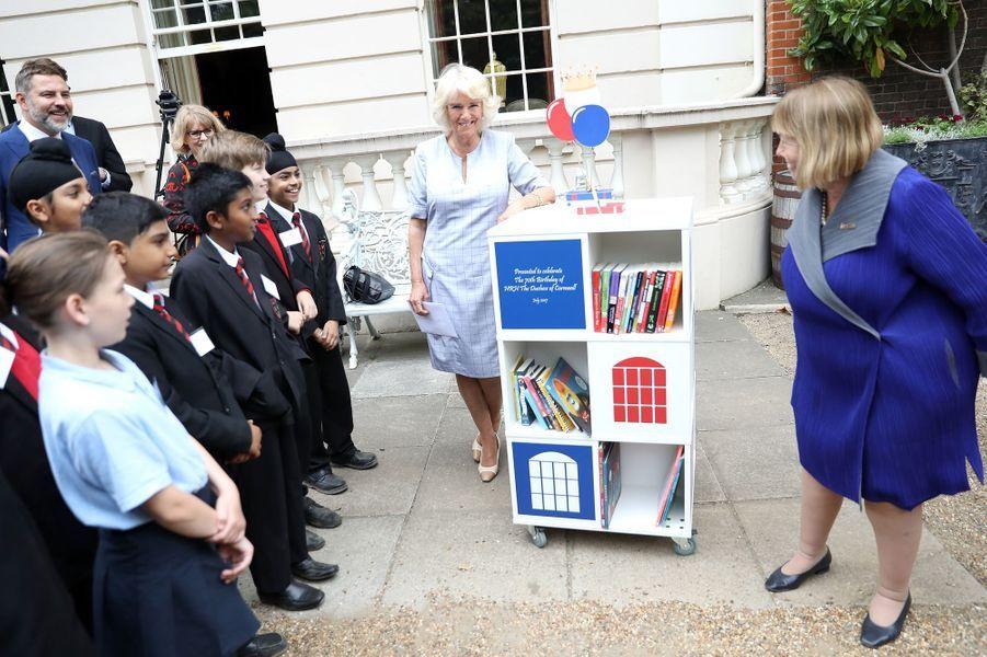 La duchesse de Cornouailles Camilla à Londres, le 11 juillet 2017