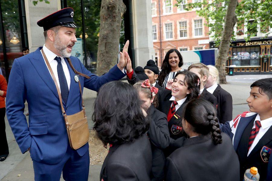 David Walliamsà Londres, le 11 juillet 2017