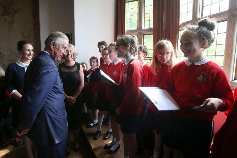 Le prince Charles à Donegal, le 25 mai 2016