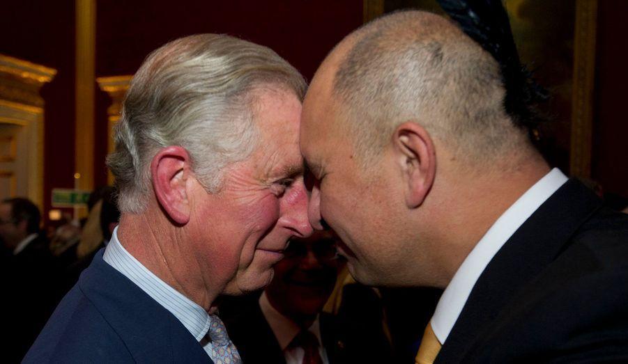Face à face avec le Maori Bruce Simpson
